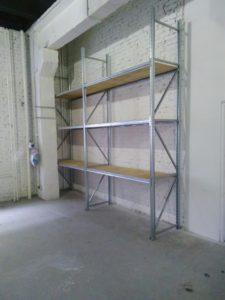 Стеллажи для склада мастерской